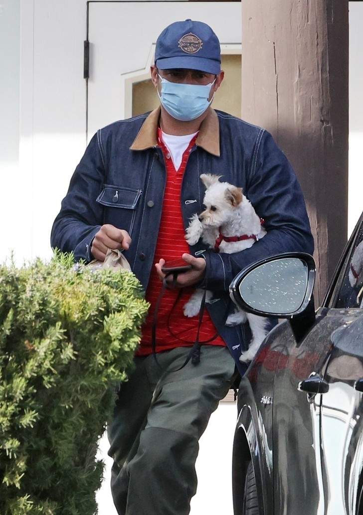 Фото №2 - Самое милое, что вы увидите сегодня: Орландо Блум и его новый очаровательный щенок