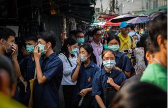 Фото №8 - Как выглядят достопримечательности Азии до и после коронавируса