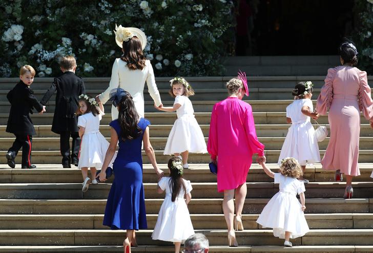 Фото №1 - Подружки и пажи королевских кровей на свадьбах: от принца Джорджа до юной Лилибет