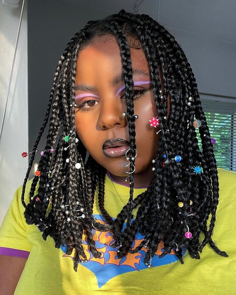 Фото №2 - Пирсинг волос— странный бьюти-тренд, который покоряет соцсети