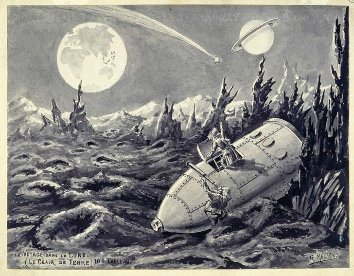 Фото №4 - Виды на космос: как менялись преставления об освоении космоса