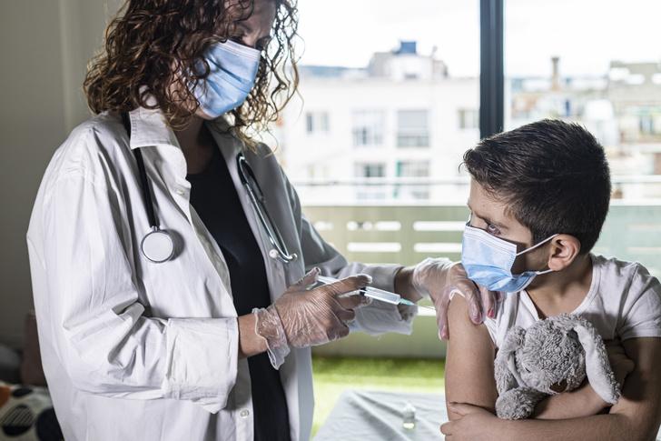 прививка дети
