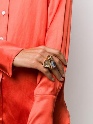 Фото №7 - Коктейльные кольца: самый яркий ювелирный тренд сезона