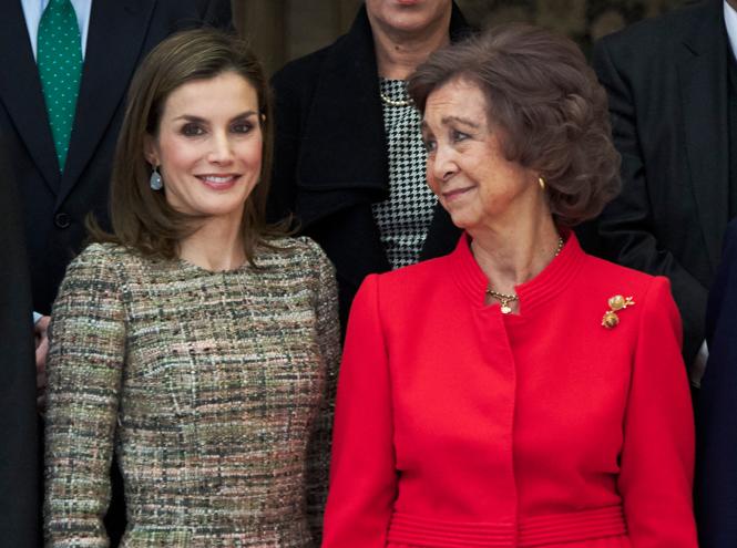 Фото №30 - Королевская метаморфоза: как изменилась Летиция Ортис за 17 лет рядом с Филиппом VI