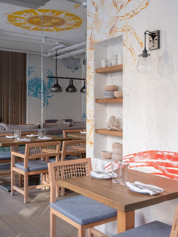 Фото №9 - Ресторан «Морская» в Москве