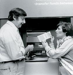 Фото №1 - Когда появился первый банкомат?