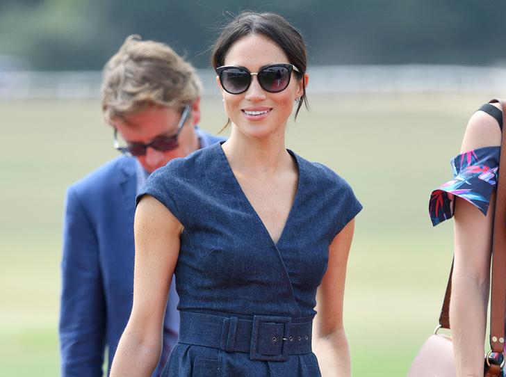 Фото №1 - Меган Маркл приехала поддержать принца Гарри на матче по поло