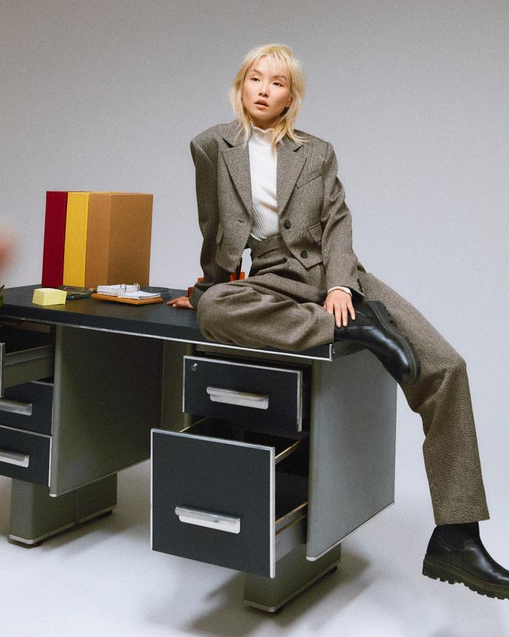 Фото №5 - Что носить в офис? 5 нескучных сочетаний из новой коллекции Claudie Pierlot