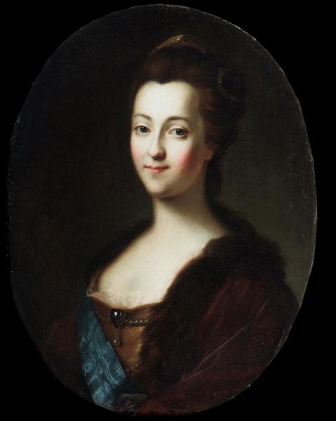 Екатерина II в молодости