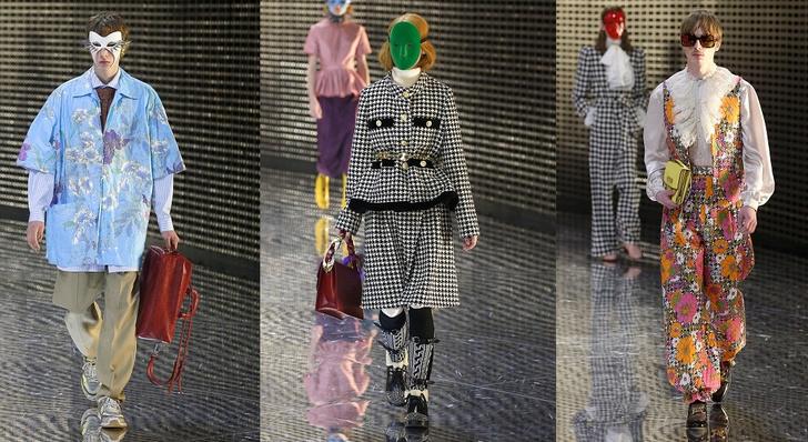 Фото №2 - Маски, кружево и эльфы в коллекции Gucci