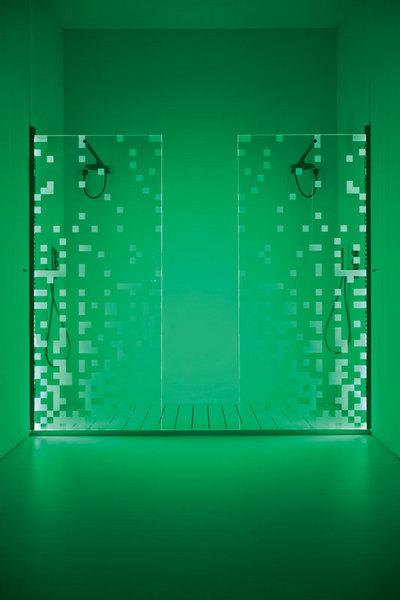 Душевая кабина Chromobox с несколькими режимами подсветки, Antonio Lupi, www.antoniolupi.it, галереи Arte di Vivere.