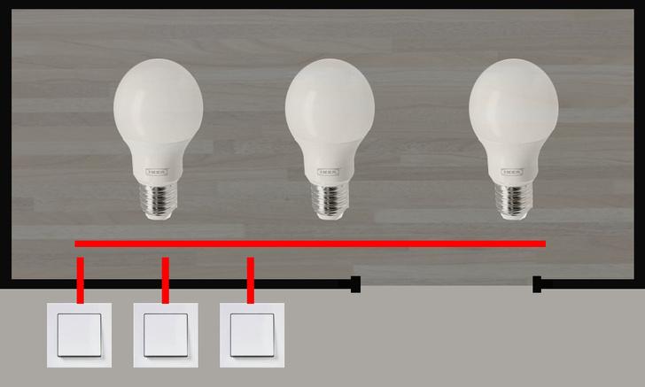Фото №2 - Логическая головоломка недели: задача о трех лампочках