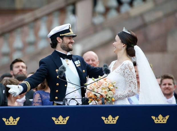 Фото №49 - Самые забавные моменты на королевских свадьбах (истории в фотографиях)