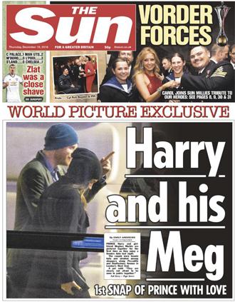Фото №3 - Они все-таки пара: первые совместные фото принца Гарри и Меган Маркл