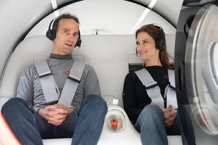 Фото №1 - Компания Virgin Hyperloop провела первые пассажирские испытания