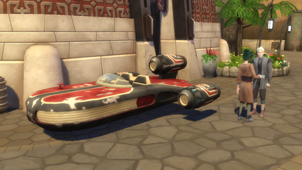 Фото №8 - Play Time: Играем в новое дополнение The Sims 4 «Star Wars: Путешествие на Батуу»
