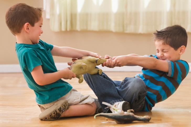 Дети дерутся между собой что делать
