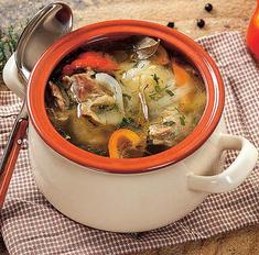 Казацкий суп из котелка