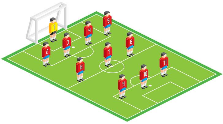 Фото №5 - Болей как Бекхэм! Памятка футбольным любителям для Евро-2020