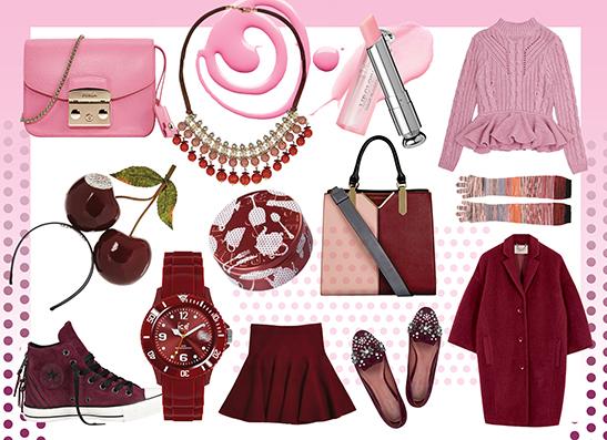 Фото №1 - Wishlist: Бордо и розовый