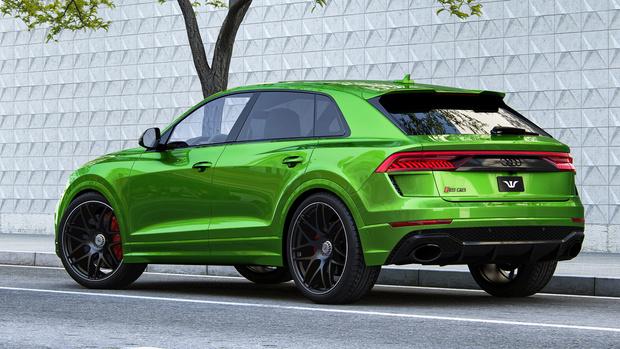 Фото №3 - Самый мощный внедорожник Audi перебрался через 1000 «лошадей»