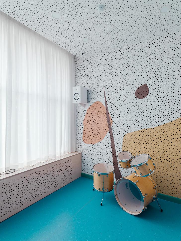 Фото №8 - Музыкальная школа с креативным интерьером в Москве