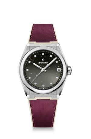 Фото №6 - Космические новинки: Zenith представили женские часы Defy Midnight