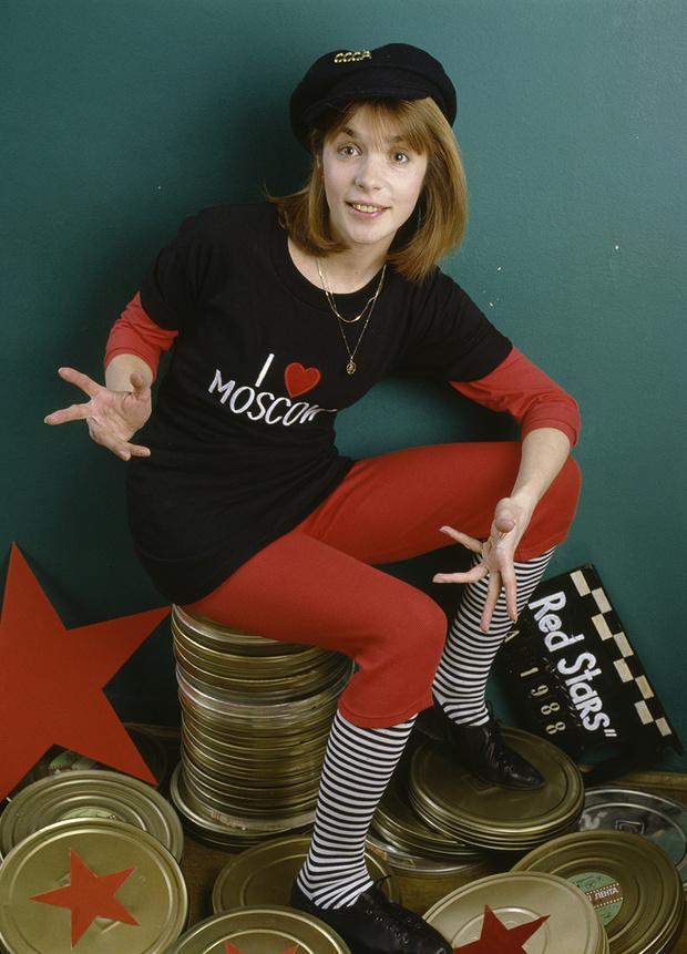 Фото №10 - «Красные звезды перестройки»: популярные советские актрисы в съемке американского фотографа, 1988 год
