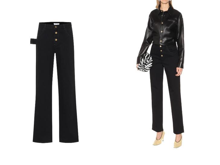 Фото №7 - Актуальные черные джинсы, которые стройнят