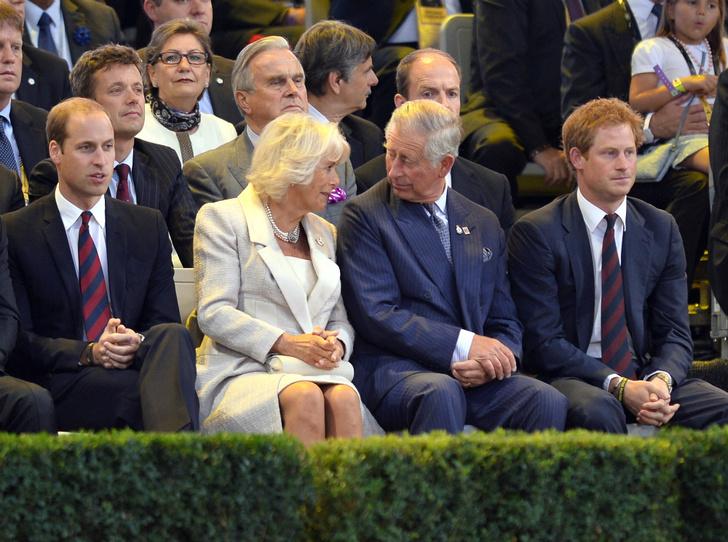 Фото №5 - Как Уильям и Гарри отреагировали на помолвку Чарльза и Камиллы