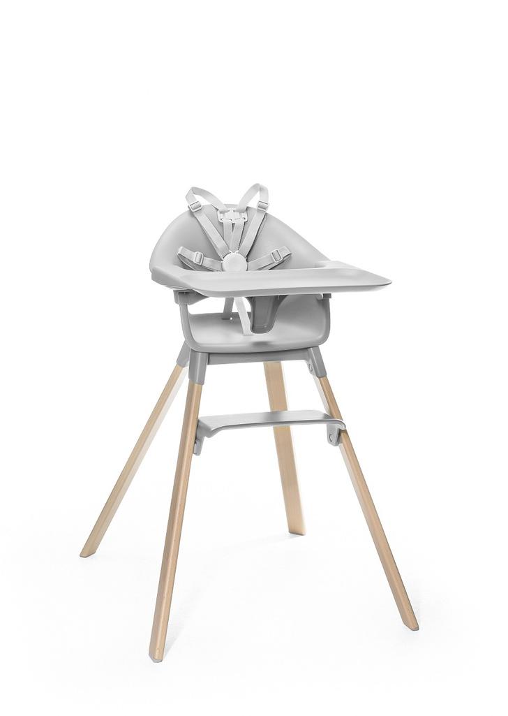 Фото №1 - Пора обедать со Stokke© Clikk — детским стульчиком, который собирается на 1-2-3