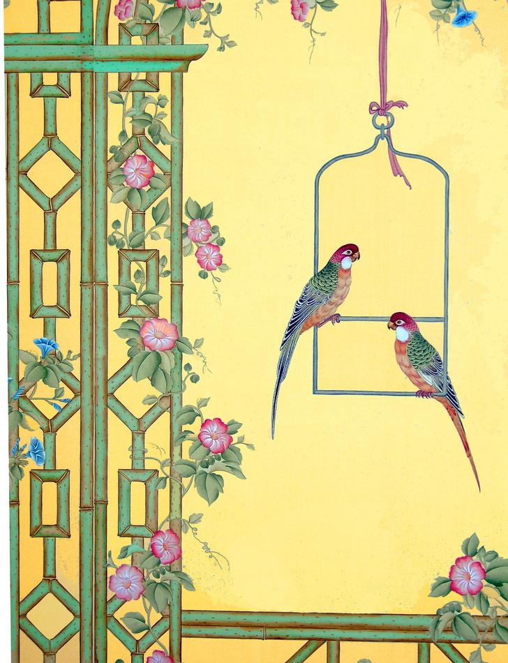 Фото №4 - Птичьи клетки в интерьере: идеи использования от дизайнера