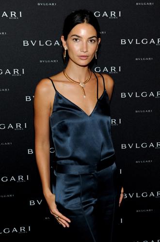Фото №2 - Лили Олдридж – посол новой рекламной кампании Bulgari