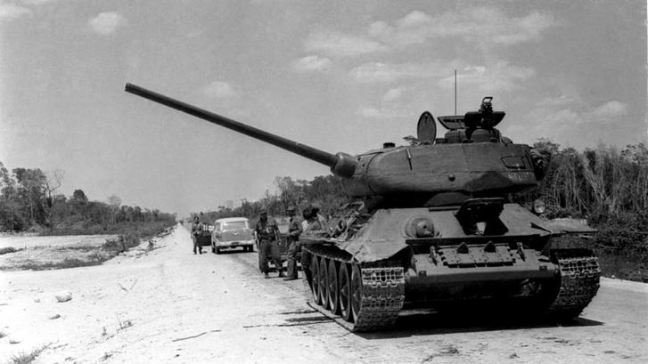 Фото №6 - Трофей из России— легендарный Т-34 на службе вдали от дома