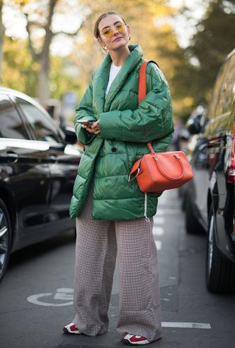 Фото №3 - Фисташка, шалфей и зеленый чай: как носить главную альтернативу цвету хаки