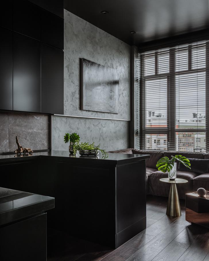 Фото №1 - Брутальная квартира 43 м² для любителя острых ощущений