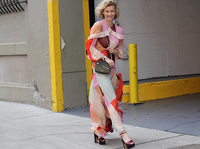Фото №13 - Образы гостей недели моды в Нью-Йорке в прошедшие выходные