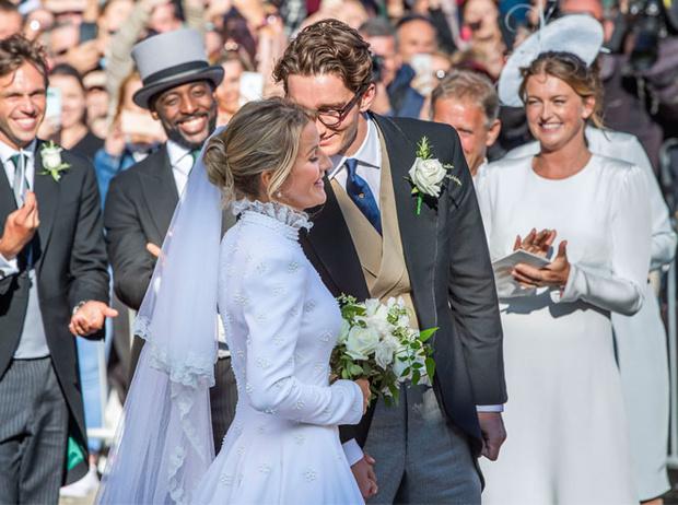Фото №10 - 10 самых стильных звездных свадеб 2019 года