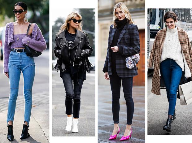 Фото №1 - С чем носить джинсы скинни сегодня: модные советы и удачные сочетания