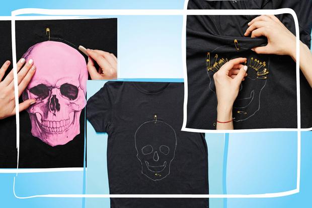 Фото №3 - Hand Made: футболка для Хэллоуина