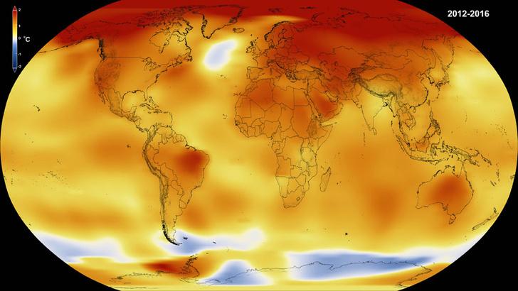 Фото №1 - 2016 год официально признан самым жарким в истории метеонаблюдений