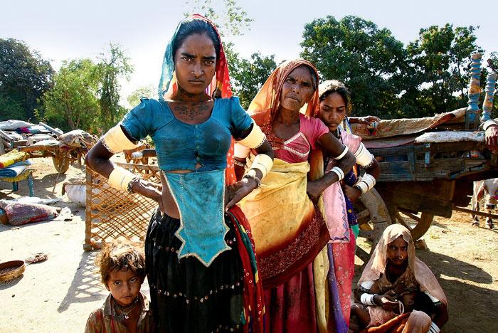 Фото №1 - Священные цепи: репортаж с цыганской свадьбы