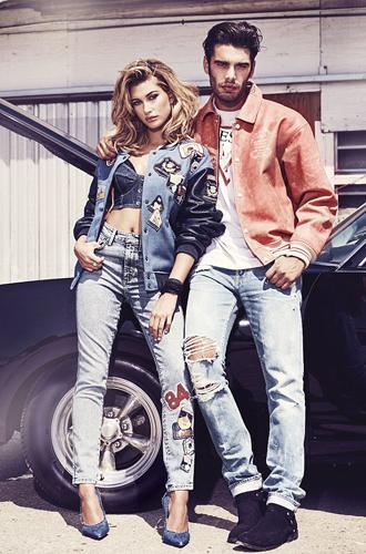 Фото №7 - 35 лет богатого джинсового наследия и новые стильные образы от GUESS