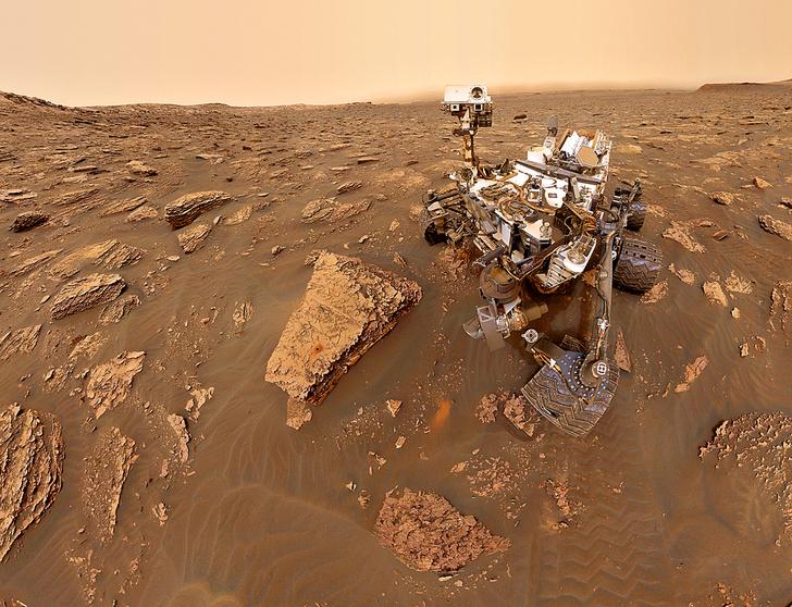NASA&nbsp;/ JPL-CALTECH&nbsp;/ MSSSВ&nbsp;отсутствие магнитного поля заряженные космические частицы иногда выводили из&nbsp;строя марсоход <i>Curiosity</i>