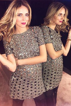 Фото №2 - Беременная Кьяра Ферраньи в секси-образах: 5 луков на Неделе моды