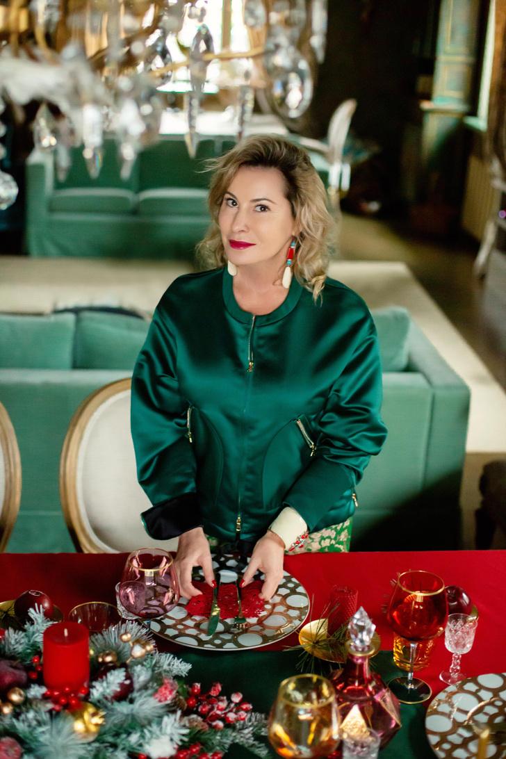 Фото №39 - Стильный новогодний стол: 10 секретов декоратора Анны Муравиной