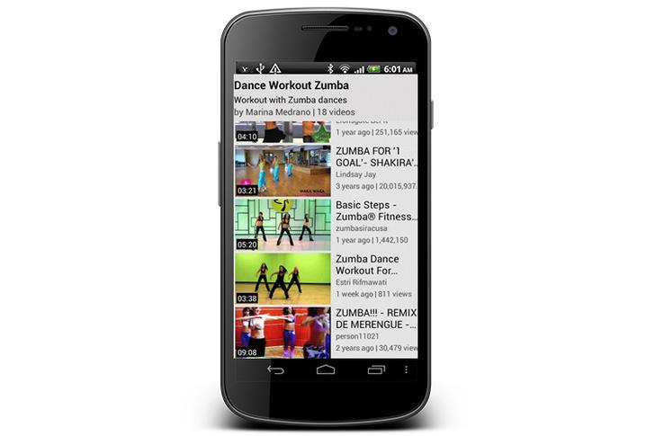 Dance Workout приложение