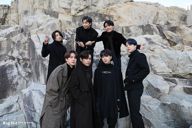 Фото №45 - Снежные ангелы: Big Hit Entertainment выложил 65 новых фото BTS 😍