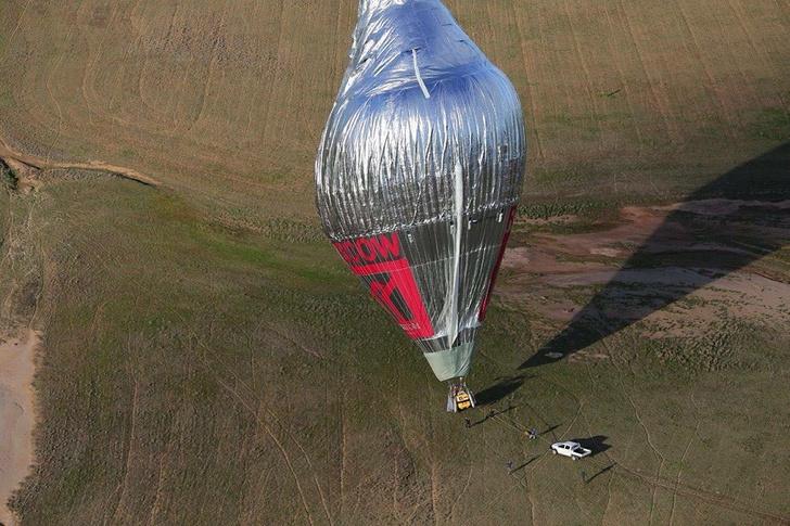 Фото №2 - Вокруг света за 11 дней: Федор Конюхов совершил кругосветное путешествие на воздушном шаре