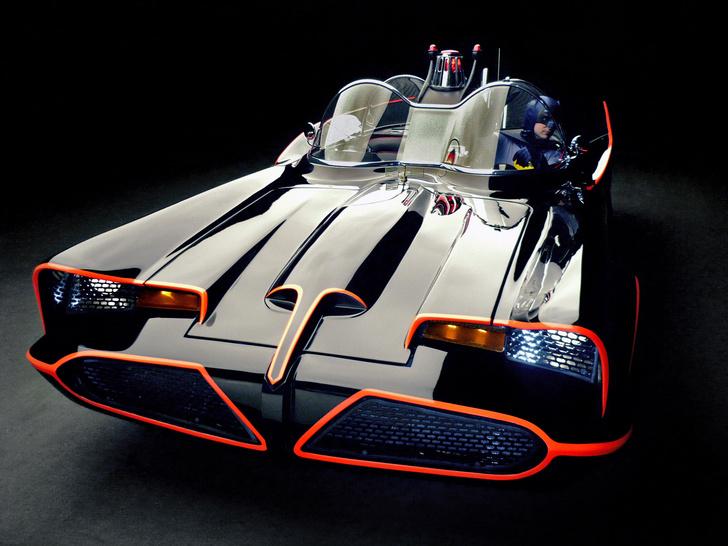 Фото №1 - Из чего построили первый «Бэтмобиль»